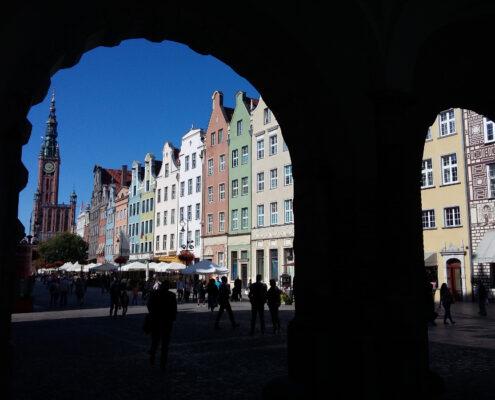 Długi Targ i Gdański Ratusz